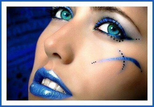 maquillage yeux danseuse